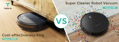 """How to choose from """"the cost-effectiveness king"""" Tesvor X500 and """"the super cleaner robot vacuum"""" Tesvor M1?"""