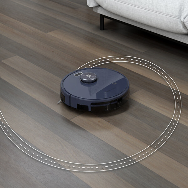 tesvor s6 Designate specific locations for powerful cleaning