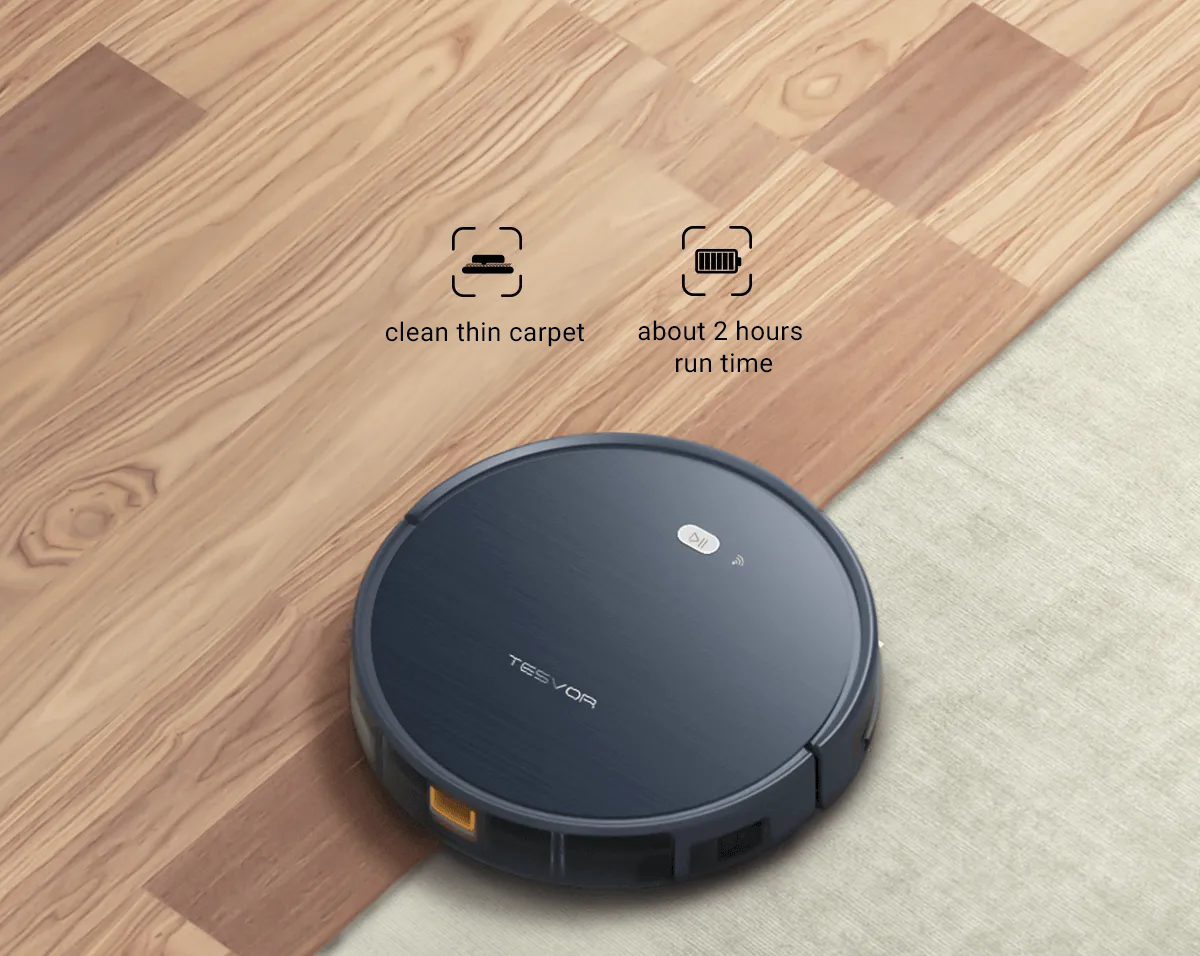 Tesvor X500 Adapt to all types of floors